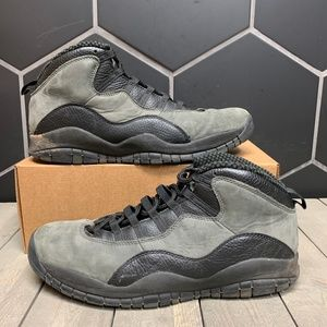 Used 2018 Air Jordan 10 Shadow Shoes Size 13